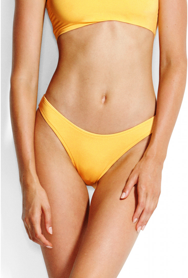SEAFOLLY , High Cut Bikini bottom, Buttercup - Active
