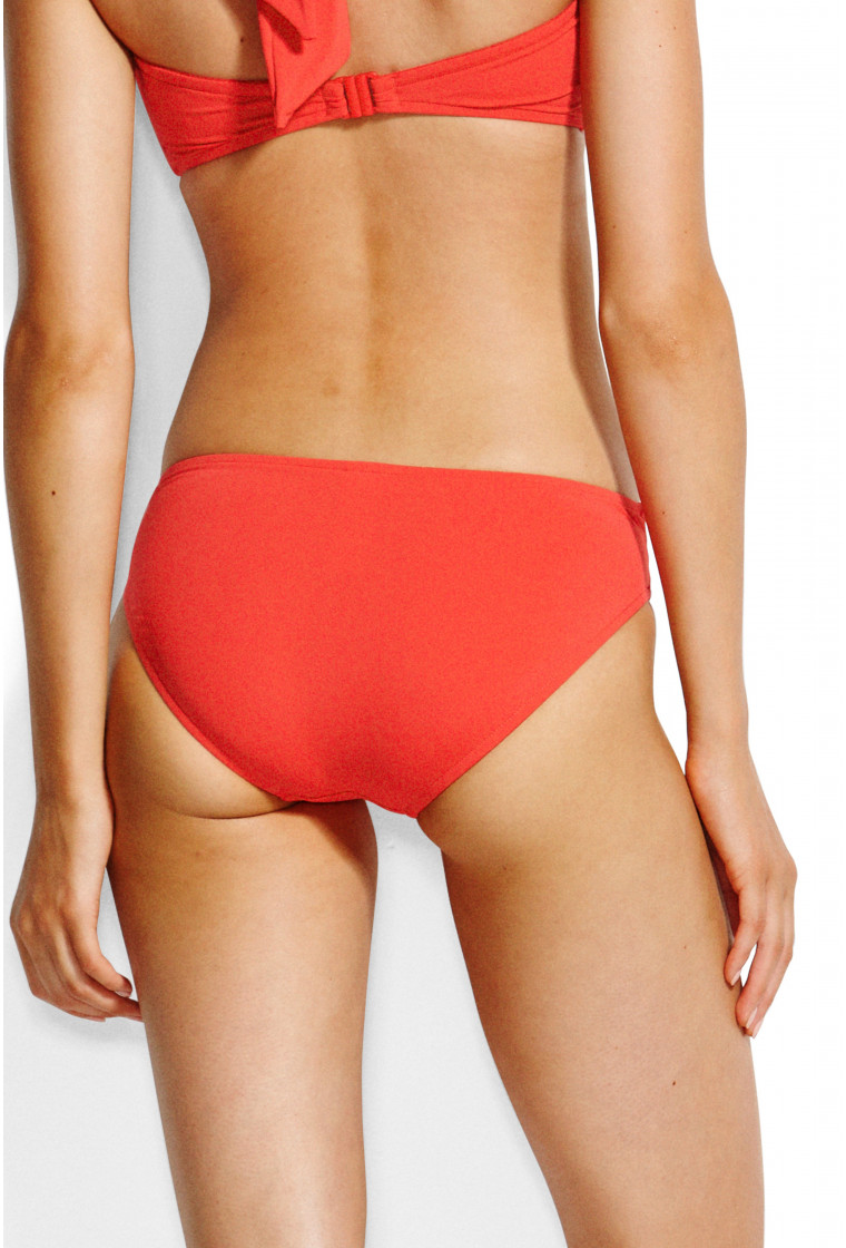 SEAFOLLY , Twist Hipster bikini bottom, Chili