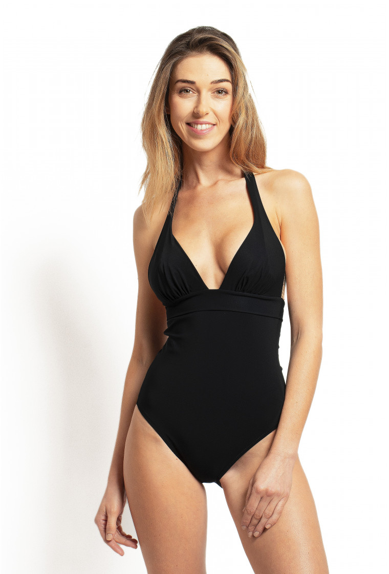 PAIN DE SUCRE, Push-up Swimsuit, Black – Mina