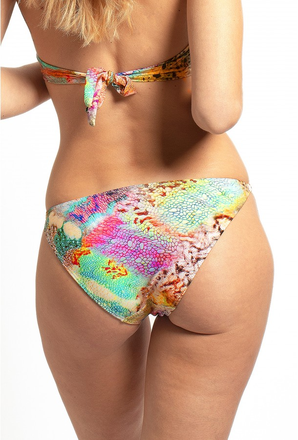 Thin Bikini Bottom with jewels Cameleon PAIN DE SUCRE, Delire