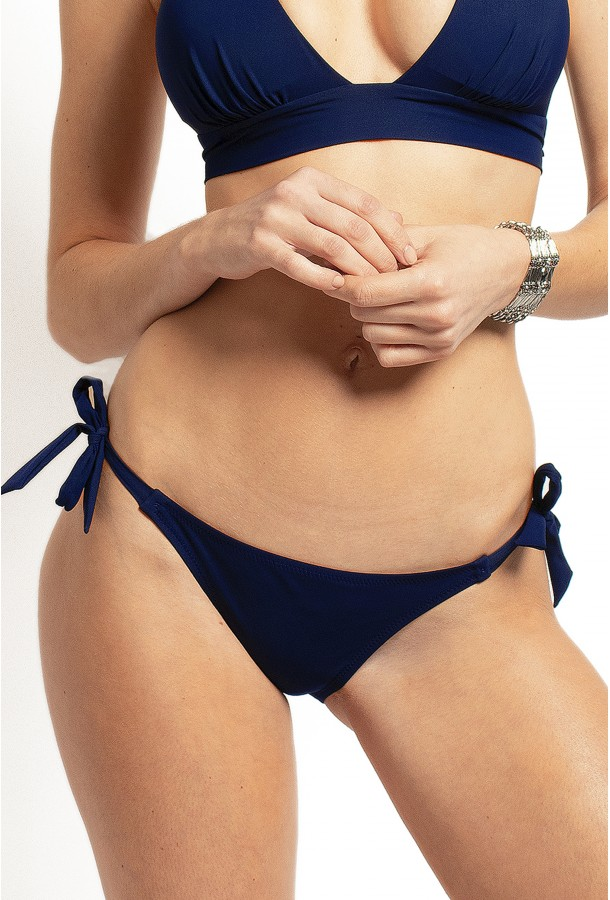 Bikini Bottom to adjust and tie Onyx PAIN DE SUCRE Navy - Uni Life