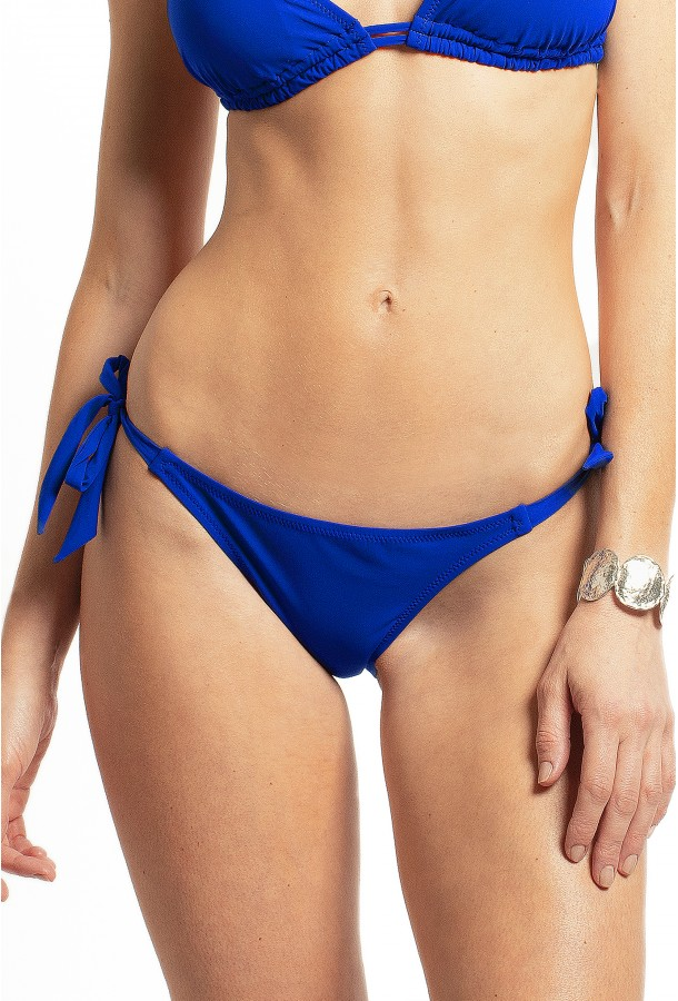 Bikini Bottom to adjust and tie Onyx PAIN DE SUCRE, Blue - Uni Life