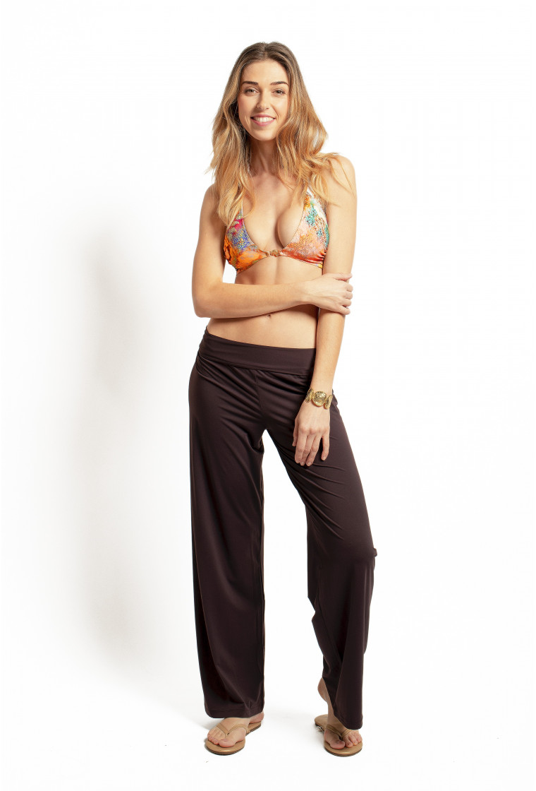 Beach Trouser PAIN DE SUCRE, Brown - Ymali