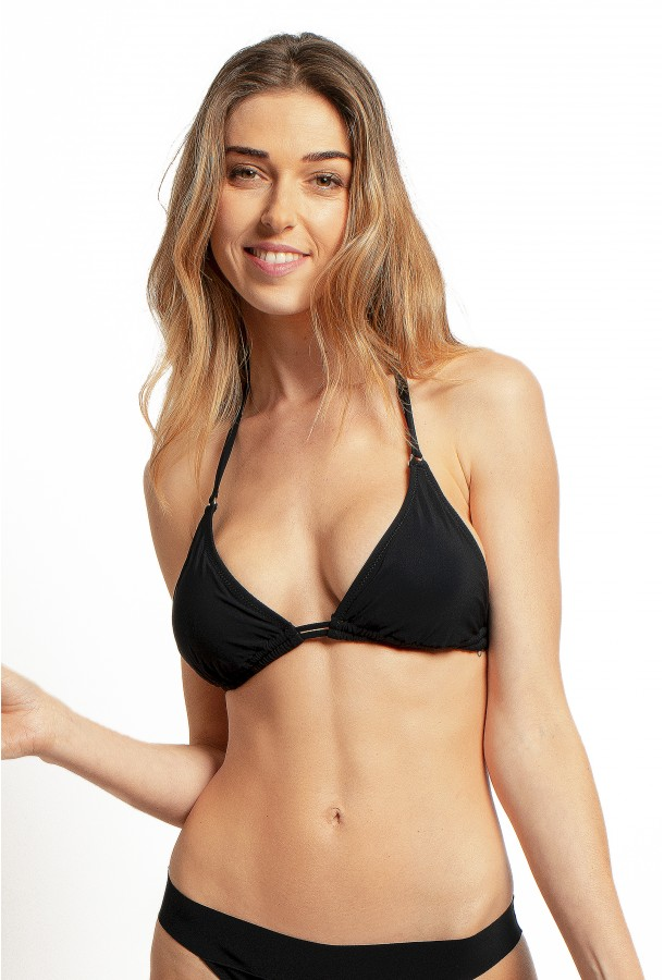 PAIN DE SUCRE, Bikini triangle, Black – Helia