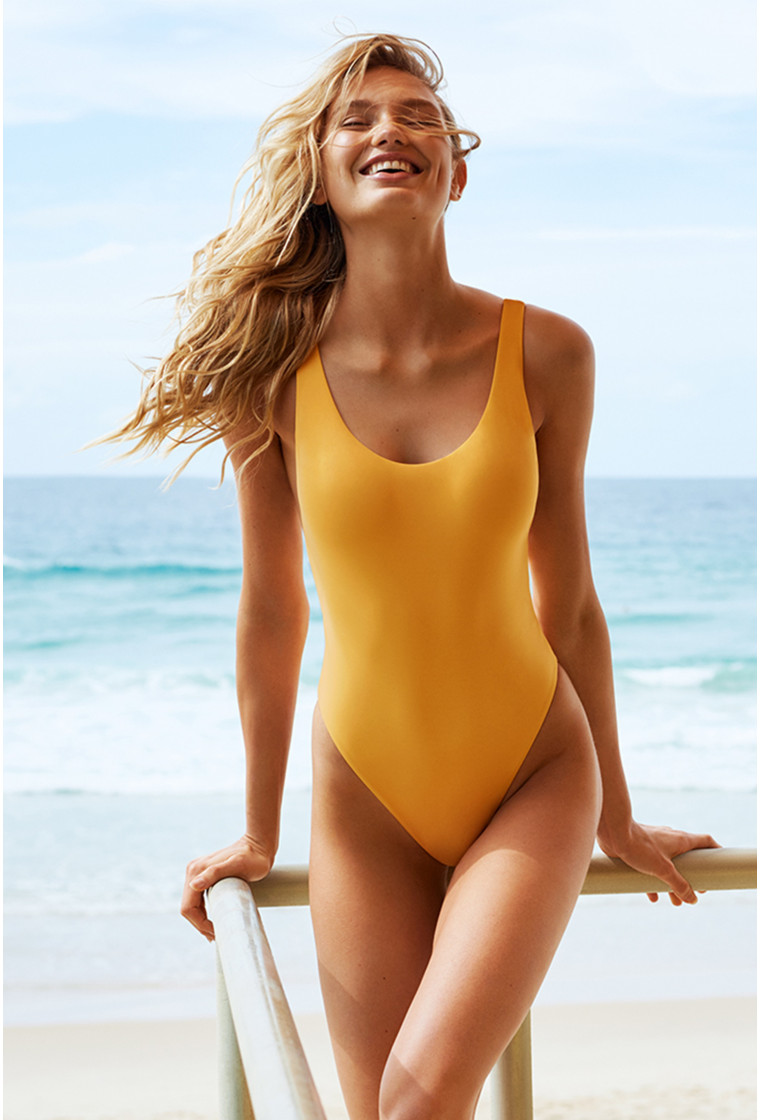 SEAFOLLY, Swimsuit Retro Tank, Active - Buttercup