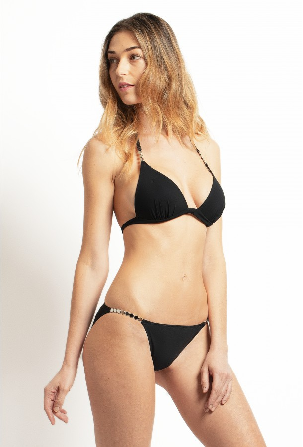 PAIN DE SUCRE, Bikini triangle, Black – Elan