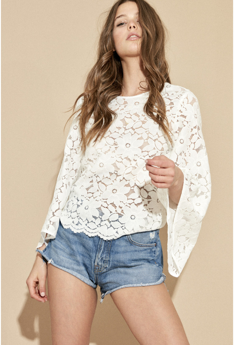 Blouse AMENAPIH, White - Dolita