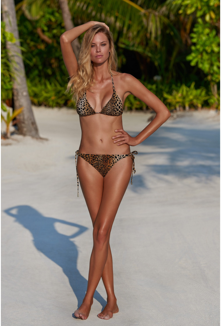 MELISSA ODABASH CANCUN CHEETAH BIKINI BOTTOM
