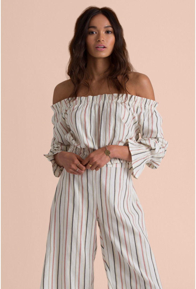 BILLABONG Pants, Stripes - Can We