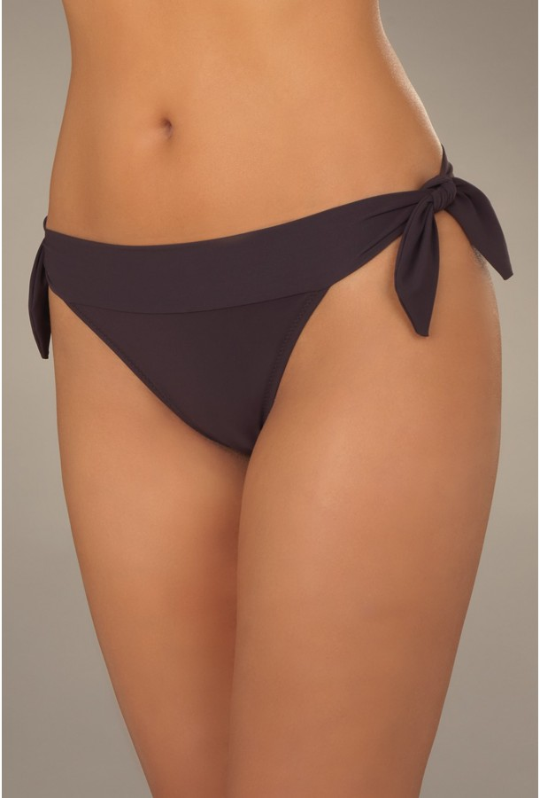 Bikini Bottom adjustable sides ties Diva PAIN DE SUCRE, Brown - Uni Life