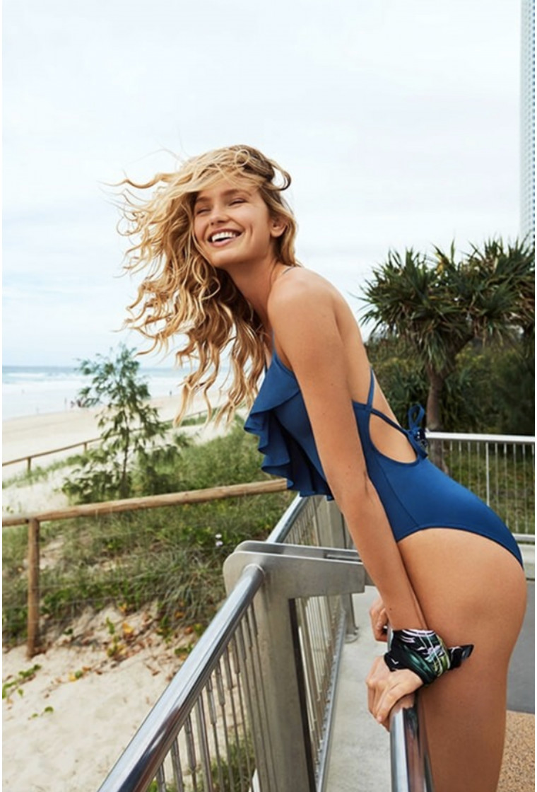 SEAFOLLY Swimsuit, Blue - Shine On