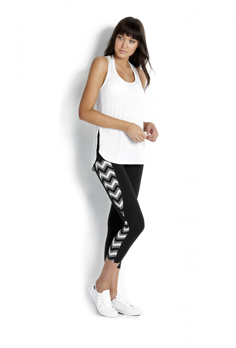 Legging Fitness, SEAFOLLY, Noir - Horizon Luxe