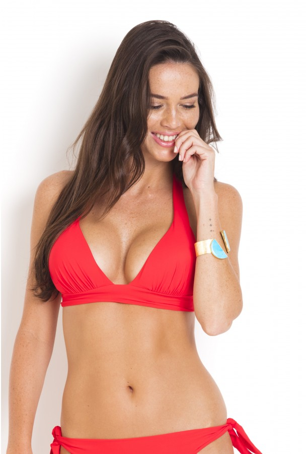 Haut de Bikini push-up Donia PAIN DE SUCRE Rouge